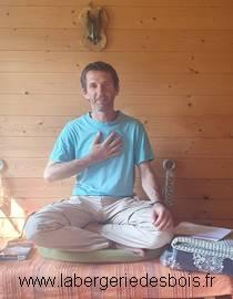 David, thérapeute à la Bergerie des Bois