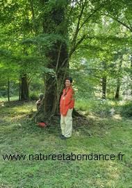 Florence Laporte, guide nature et maître de stages à la Bergerie des Bois